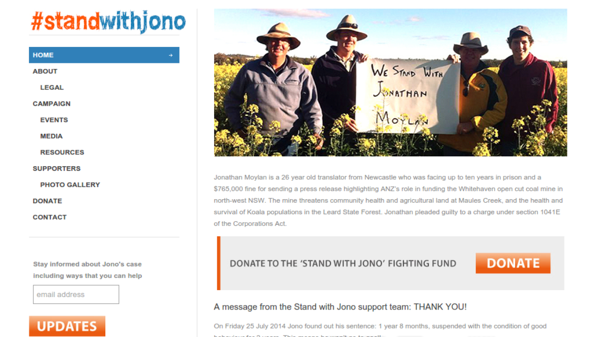 StandWithJono.org